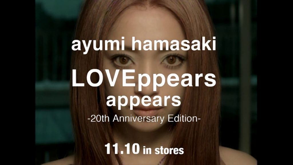 "Ayumi Hamasaki to release 20th anniversary edition of ""LOVEppears"""