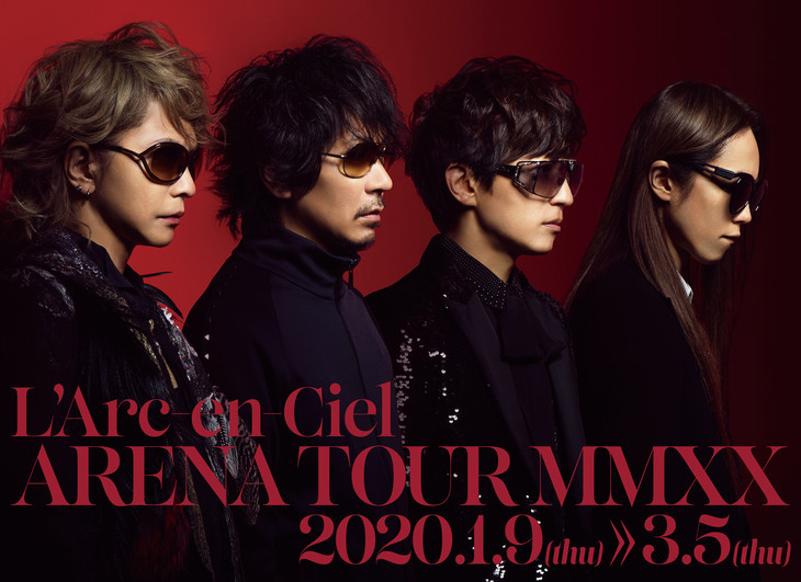 L'Arc~en~Ciel announced first live tour in 8 years