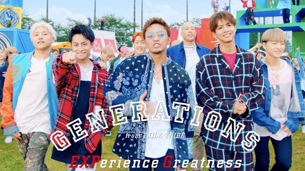 "Watch GENERATIONS new MV for ""EXPerience Greatness"""