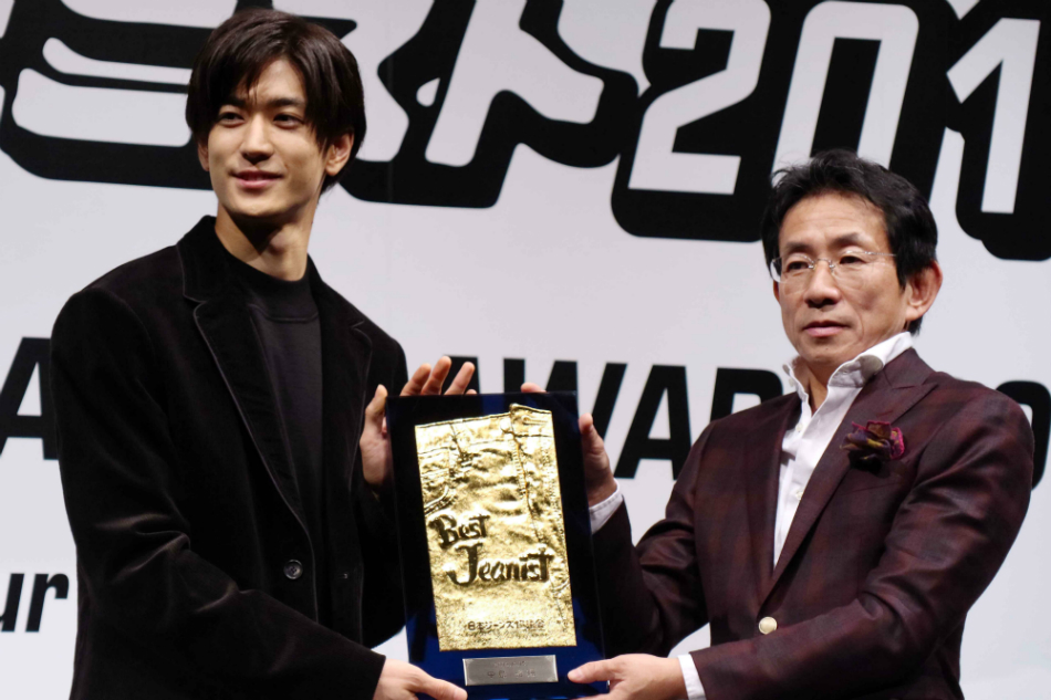 "Hey! Say! JUMP's Yuto Nakajima inducted into the ""Jeanist Hall of Fame"""