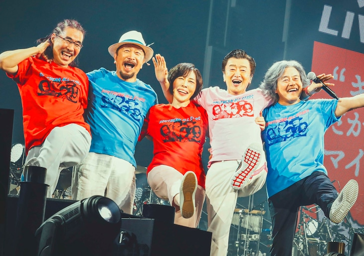 "Southern All Stars pull back the curtain in their Music Video for ""Ai wa Slow ni Chottozutsu"""