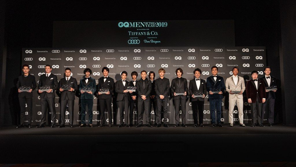 "GQ JAPAN Reveals Its ""GQ MEN OF THE YEAR 2019"""