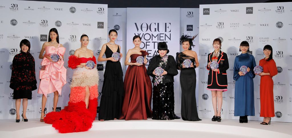 "Vogue Japan Names Its ""VOGUE JAPAN WOMEN OF THE YEAR 2019"""