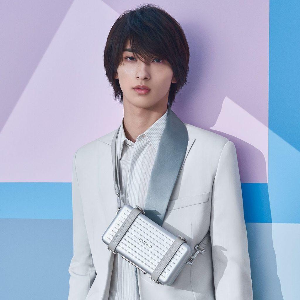 Ryusei Yokohama covers February 2020 issue of MEN's NON-NO