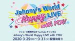 "Arashi Performs on ""Johnny's World Happy LIVE with YOU"" for April 1"