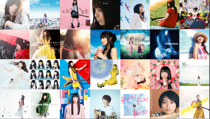 miwa celebrates 10th anniversary by uploading full MVs to YouTube