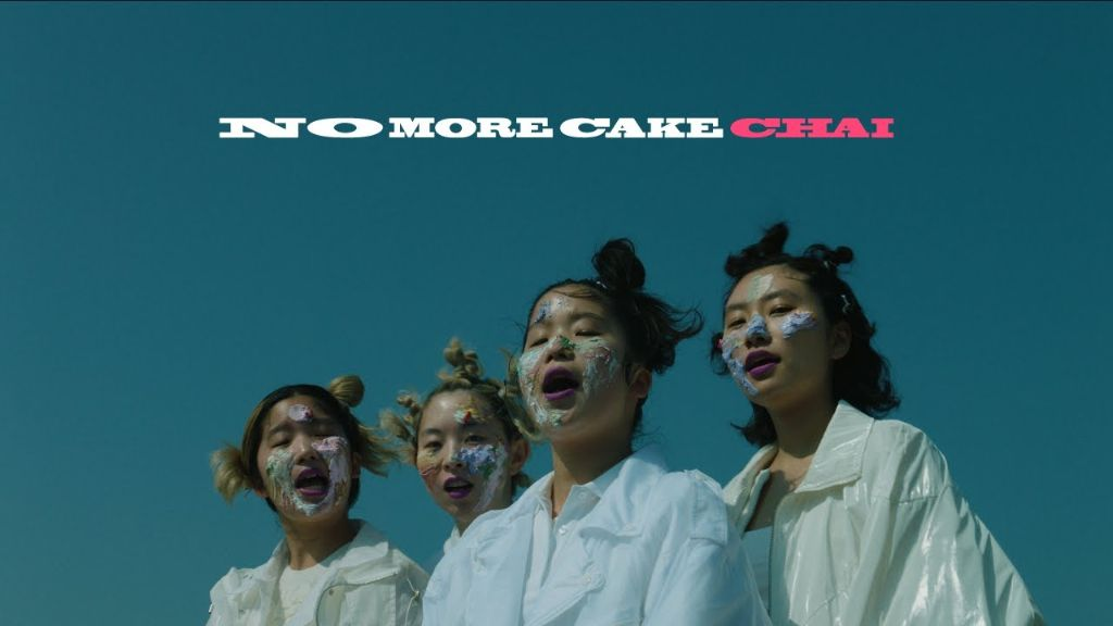 "Watch CHAI's new MV for ""NO MORE CAKE"""