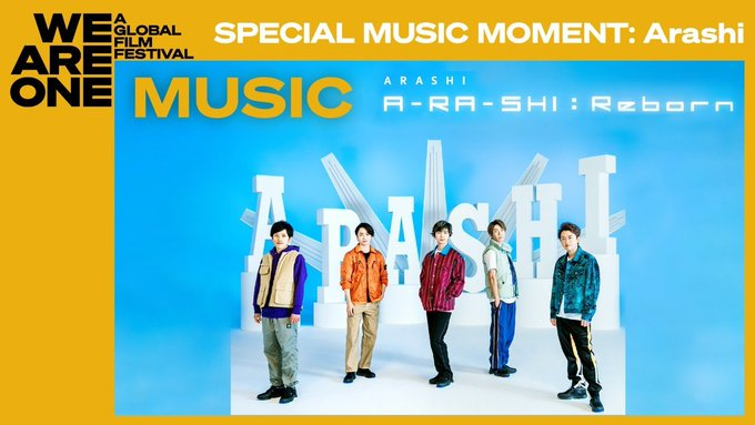 "Arashi unveils ""Hope in the Darkness"" concert stage and more for ""We Are One: A Global Film Festival"""