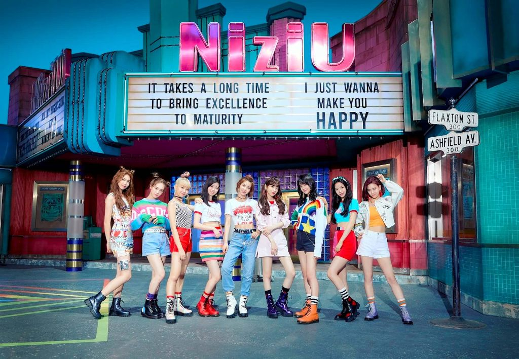 """NiziU Release Debut Music Video for """"Make you happy"""""""