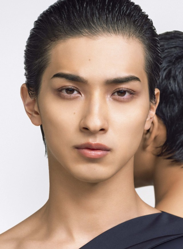 Ryusei Yokohama models for NARS Cosmetics first Japan only collection