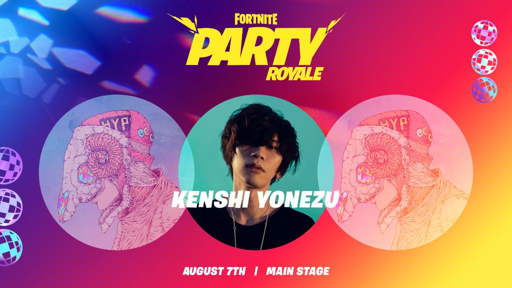 "Yonezu Kenshi to Hold Event on ""Fortnite"""