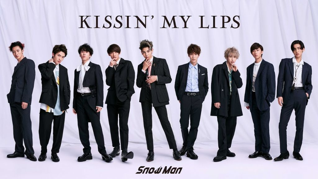 "Snow Man release MV for second single ""KISSIN' MY LIPS""!"