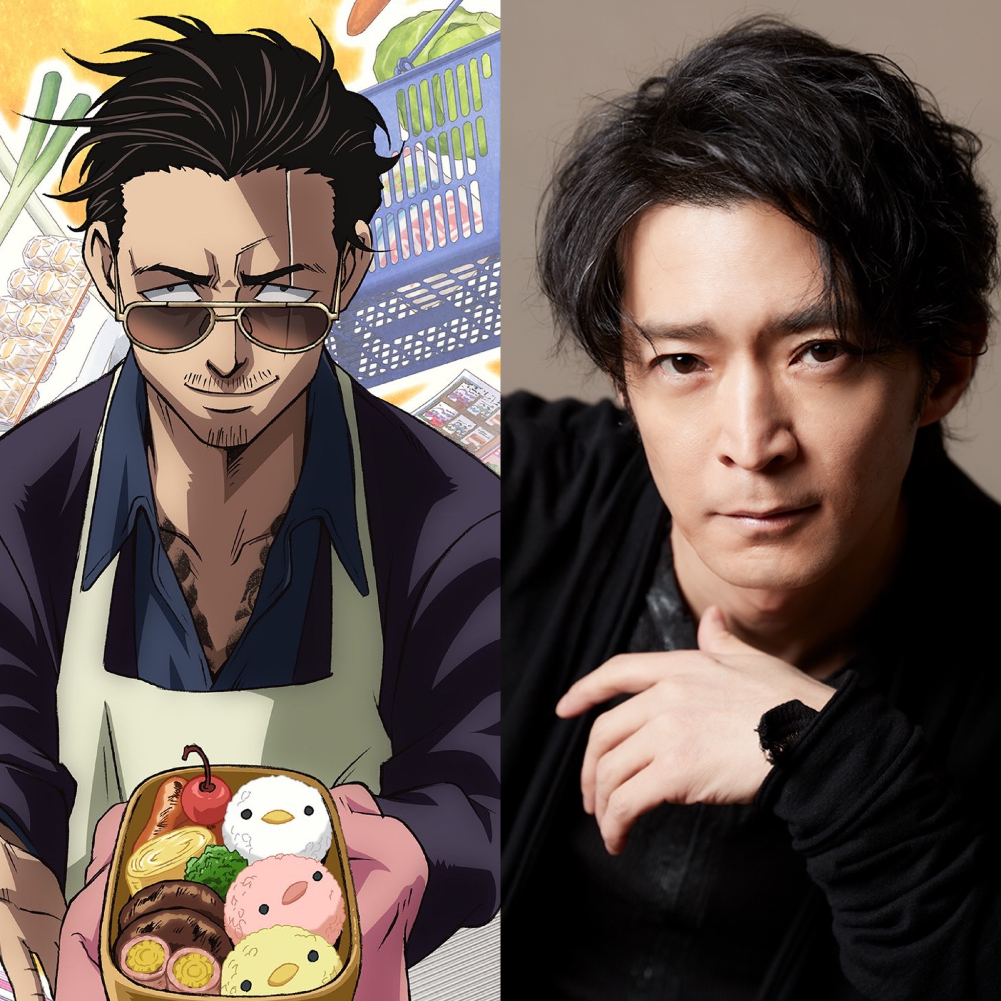Anime adaptation for The Way of the Househusband announced, Kenjiro Tsuda to voice lead role