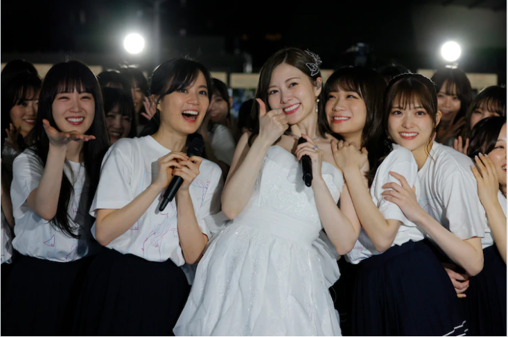 Mai Shiraishi has graduated from Nogizaka46