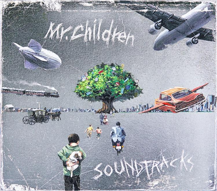 "Mr.Children announce 20th album ""SOUND TRACKS"" | ARAMA! JAPAN"