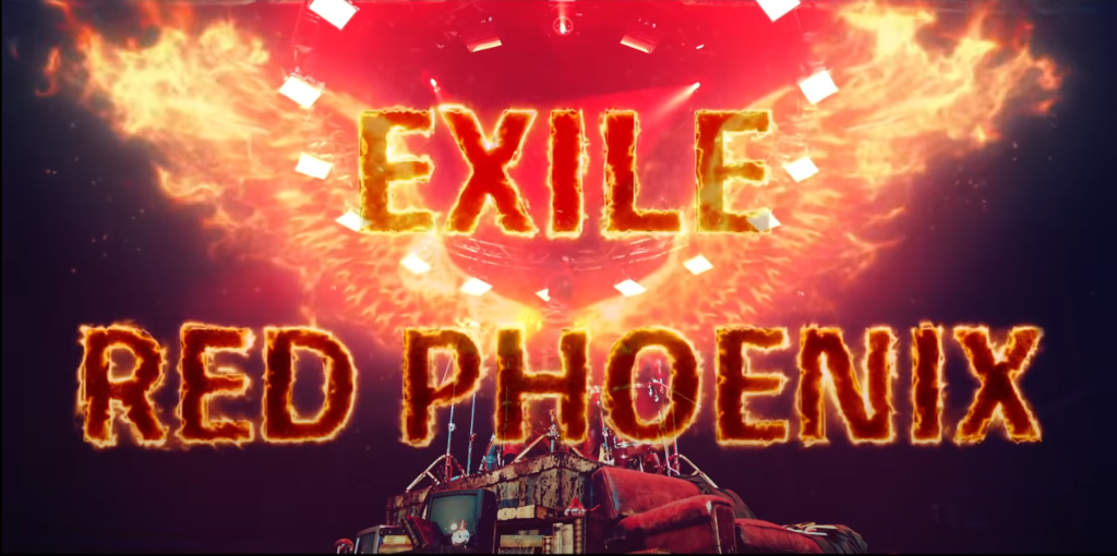 "EXILE returns with explosive ""RED PHOENIX"" MV"