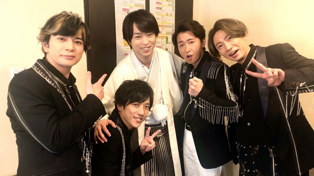 Arashi officially suspends all of their activities