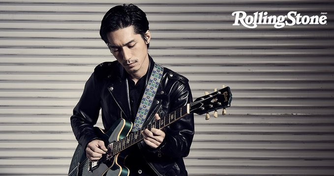 Ryo Nishikido covers latest issue of Rolling Stone Japan