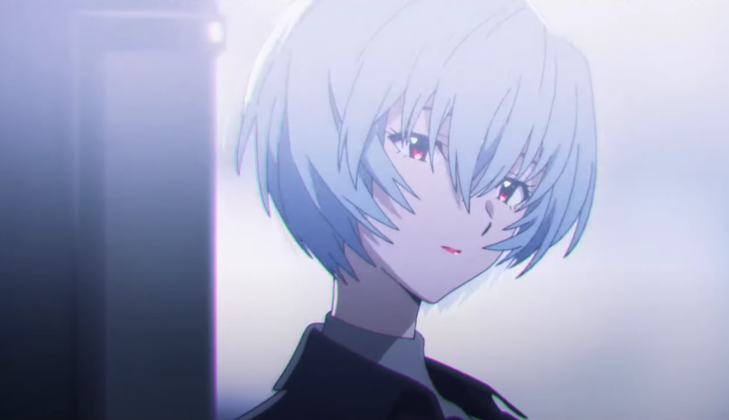 "Evangelion's Rei Ayanami stars in new CM for KATE's ""Red Nude Rogue"" lip rogue"