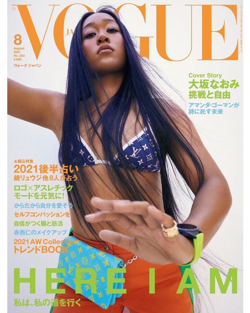 Naomi Osaka covers Vogue Japan