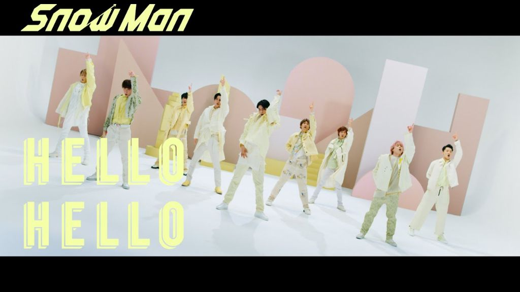 "Watch Snow Man's brand new MV for ""HELLO HELLO"""