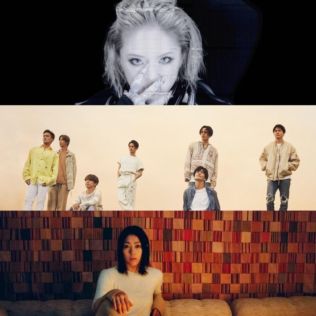 "Ayumi Hamasaki, J Soul Brothers, Hikaru Utada & more to participate in concert series ""YouTube Music Weekend"""