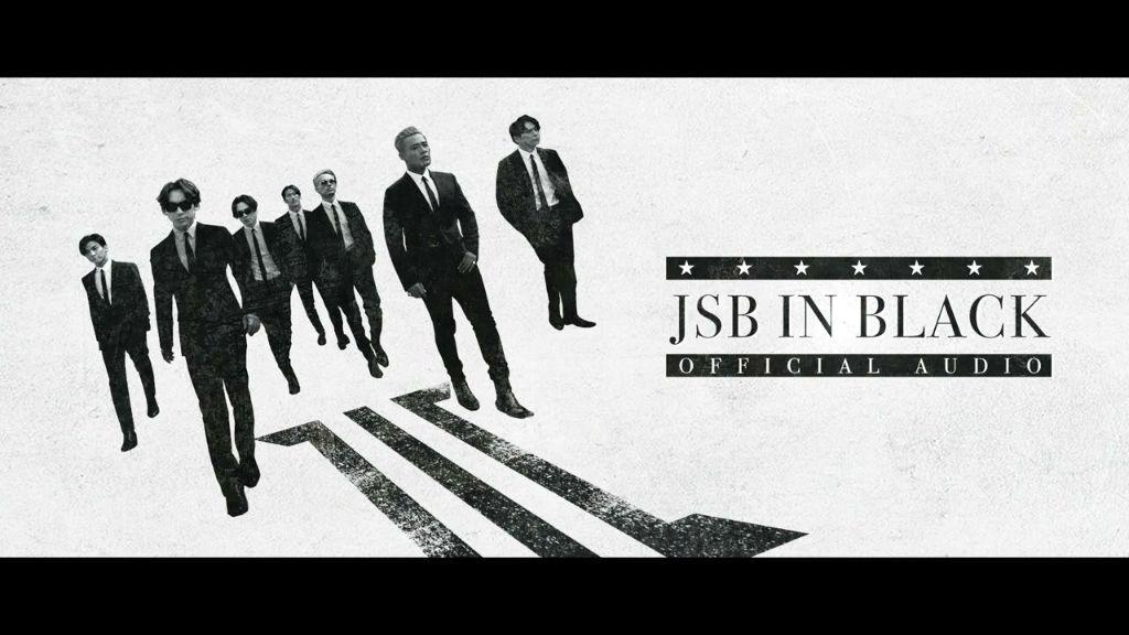 "Sandaime J SOUL BROTHERS release new digital single ""JSB IN BLACK"""